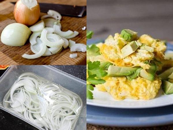 Giảm cân bằng hành tây chiên trứng, cách giảm cân bằng hành tây giảm cân bằng hành tây, ăn hành tây có giảm cân không