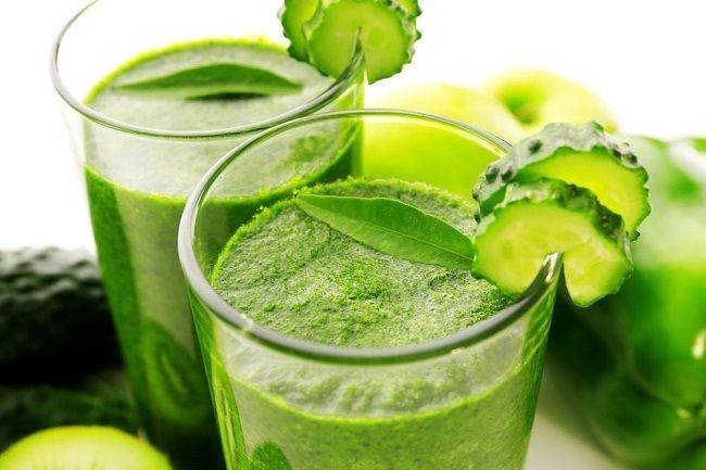 Uống nước ép rau má, nước ép rau má giảm cân, cách giảm cân bằng rau má